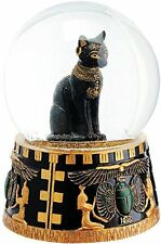 BOULE DE NEIGE XXL CHAT BASTET EGYPTE EGYPT CAT SNOW GLOBE BALL GATO GATTO NERO