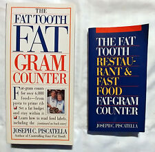 Lot of Two Fat Tooth Books; Gram Counter & Restaurant and Fast Food Gram Counter