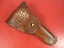 WWII US Army M1916 Leather Holster Colt .45 acp M1911A1 - Craighead Denver  RARE