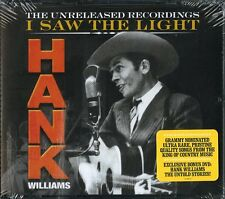 HANK WILLIAMS I SAW THE LIGHT THE UNRELEASED RECORDINGS BOX 3CD+DVD NUOVO