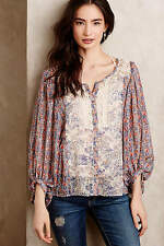 NWT ANTHROPOLOGIE CHINOISERIE PEASANT BLOUSE BY HD IN PARIS, SIZE 4
