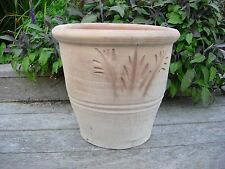 Large Terracotta Fern Plant  Pot / Garden Planter 29 cm High