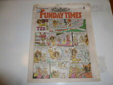 THE FUNDAY TIMES - No 111 - Date 20/10/1991 - Free Sunday Time Comic Supplement