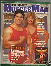 MuscleMag bodybuilding fitness magazine/Lou Ferrigno/ Mike Mentzer 12-83 #39