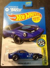 Hot Wheels CUSTOM Super Treasure Hunt Nissan Fairlady Z with Real Riders