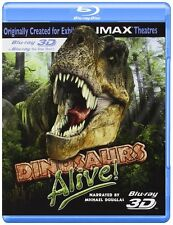 IMAX DINOSAURS ALIVE BLU RAY 3D + BLU RAY VERSION NEW! MICHAEL DOUGLAS, FAMILY