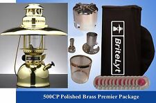 BriteLyt Petromax Lantern PREMIER PACKAGE Polished brass