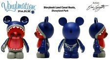 """Disney Vinylmation Park 6 Storybook Land Canal Boats Monstro Whale 3"""" Figure"""