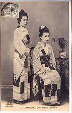 CP Vietnam - Saïgon - Deux beautés japonaises