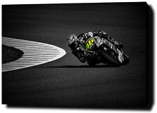 "VALENTINO ROSSI  30""x20"" CANVAS PRINT POSTER PHOTO PICTURE MOTOGP WALL ART"