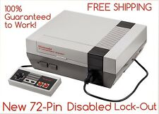 REFURBISHED Nintendo NES Console, New 72-pin, Lockout Disabled, WORKS GREAT