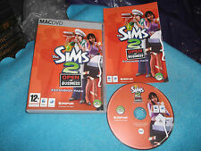 THE SIMS 2 OPEN FOR BUSINESS EXPANSION PACK APPLE MAC/DVD V.G.C. FAST POST