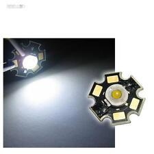 5x Alto rendimiento LED Chip 3W blanco puro POTENCIA LED WHITE