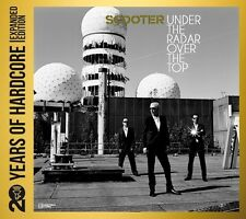 SCOOTER - 20 YEARS OF HARDCORE-UNDER THE RADAR OVER THE TOP  (2 CD) TECHNO NEU