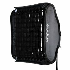 Godox 80x80cm Softbox + Honeycomb Grid for Studio Flash fit Bowens Elinchrom
