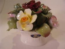 AYNSLEY JUNE ROSE Fine Bone China Figurine of Roses HP from England