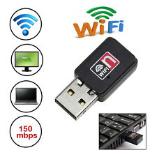 150M Mini USB 802.11n/g/b WiFi Wireless Laptop LAN Card Adapter with CD Driver