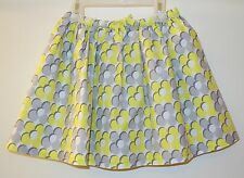 BNIP ~ Mini Boden Yellow/Gray Floral Skirt ~ Size 2-3 ~ Adorable