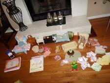 Huge lot American Girls Angelina Ballerina Furniture/Dolls and Books