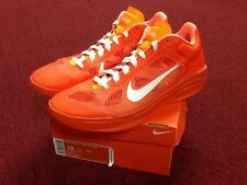 Gently Worn Nike Zoom Air Hyperfuse 13 Orange - White kd kyrie Oklahoma State