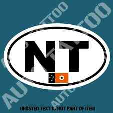 NORTHERN TERRITORY CODE DECAL STICKER CAR TRUCK RALLY EURO STYLE DECLS STICKERS