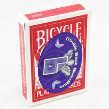 DOUBLE BACK BLUE/BLUE 809 MANDOLIN BACK BICYCLE DECK PLAYING CARDS MAGIC TRICKS