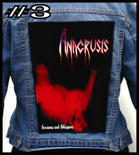 ANACRUSIS   --- Huge Jacket Back Patch Backpatch --- Various Designs