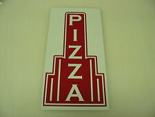 Vintage Style PIZZA Metal Art Deco Tin Sign 4 Home Kitchen Shop Man Cave Garage