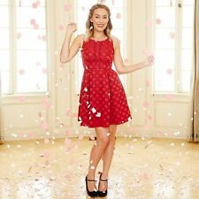 LC Lauren Conrad Disney's Minnie Mouse Red Dot Dress - Limited Edition Size 10