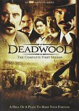 Deadwood - The Complete First Season 1 DVD, 12 Episode, 6-Disc Set New/Sealed