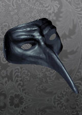 Halloween Black Plague Doctor Style Mask