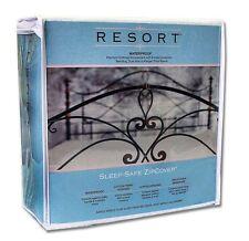 """Sleep-Safe Resort Waterproof Mattress Encasement Allergen Protector - Twin XL 9"""""""