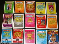 GARBAGE PAIL KIDS 30TH ANNIVERSARY COMPLETE MINI MASTER SET 245 CARDS + WRAPPER