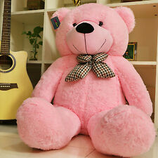 "Joyfay® Pink Giant Teddy Bear 47"" 120cm Stuffed Toy Birthday Gift"