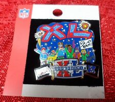 NFL Super Bowl 40 Charles Fazzino  Steelers Vs Seahawks Limited Edition Pin