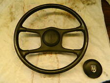 1984-1988 FIERO LS Lenkrad/Steering Wheel in dunkelgrau/schwarz,orig.GM,gut !