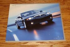 2004 Lincoln LS Deluxe Sales Brochure 04