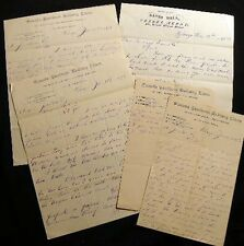 1878 LETTERS CHICAGO WESTERN AGENT CANADA SOUTHERN RAILWAY LINES