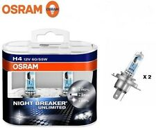 coppia LAMPADE OSRAM H4 12V 60/55W NIGHT BREAKER UNLIMITED - +110% + 35M + 20%