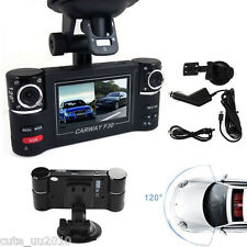 HD 1080 Dual 120°Wide-Angle Camera Lens Recorder Night Vision Rear View Dash Cam