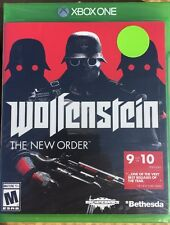 Xbox ONE WOLFENSTEIN The New Order Nazi War Game BRAND NEW Fast Shipping