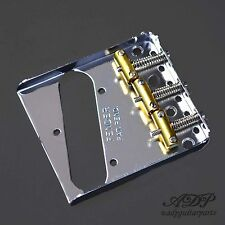 CORDIERA TELECASTER FENDER USA PAT - PEND 3xBRASS SADDLE TELE BRIDGE 0990806100