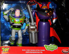 Toy Story DISNEY Emperor Zurg & Buzz Lightyear Talking Action Figures Set MIB