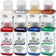 8 Color 2oz TESTORS AZTEK Premium PEARL Acrylic Airbrush Paint Hobby Set Guide