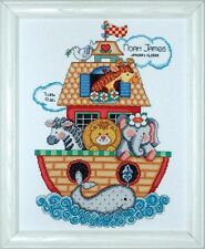 DESIGN WORKS - TOBIN BABY - NOAH'S ARK SAMPLER CROSS STITCH KIT (T21718)