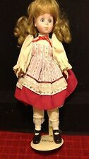 """Vintage RARE Duck House Blond Dress 18"""" Inch Doll Girl Daugter Child Stand Incl"""