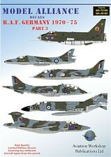 Model Alliance 1/48 RAF Germany 1970-75 Part 3 # 48188