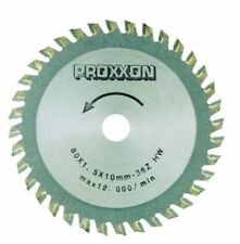 Proxxon 80 mm Carbide Tipped Saw Blade 36 Teeth 28732 Saw Blade NEW
