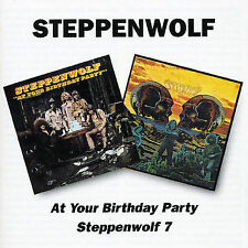 At Your Birthday Party/Steppenwolf 7 by Steppenwolf (CD, Dec-1996, Bgo)