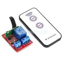 12V 1 CH Channal RF Wireless Switch Relay Driving Module+Remote Controller